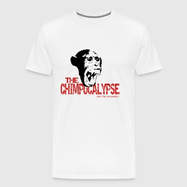 chimp copy.gif - Men's Premium T-Shirt