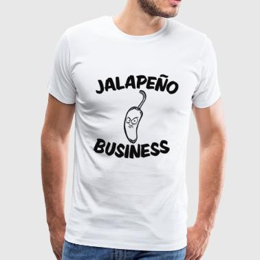 jalapeno business - Men's Premium T-Shirt