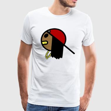 Carefree Trapboys Dreads - Men's Premium T-Shirt