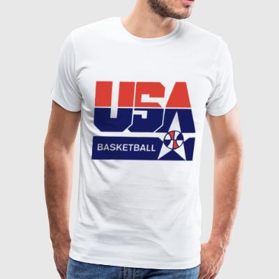 USA Basketball Olympic Team Summer League - Men's Premium T-Shirt