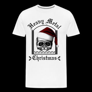 Heavy metal Christmas - Men's Premium T-Shirt
