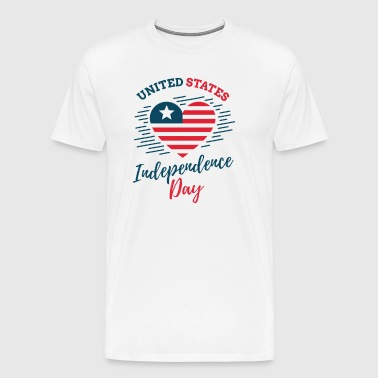 4th of July, United Stated independence day - Men's Premium T-Shirt