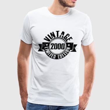 18th Birthday Gift - Vintage 2000 - Men's Premium T-Shirt