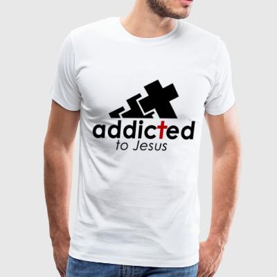 addicted to jesus - Men's Premium T-Shirt