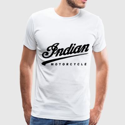 INDIAN TED MOTORCYCLE BIKE VINTAGE CLASSIC - Men's Premium T-Shirt