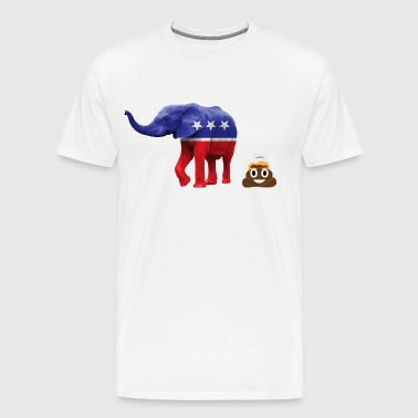 Republicans dump out Trump - Men's Premium T-Shirt