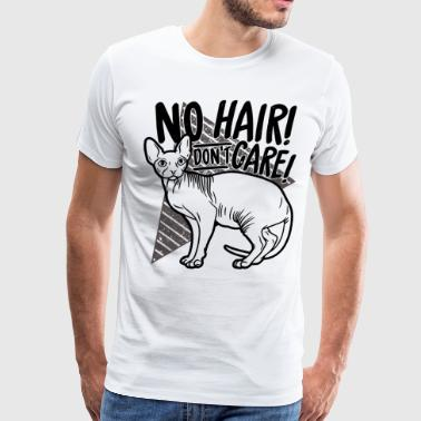 No Hair Don t Care - Men's Premium T-Shirt