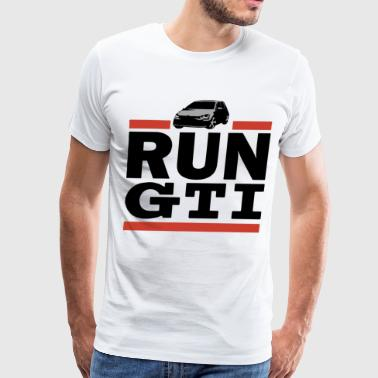 Run GTi Golf Mk1 Mk2 Mk3 Mk4 Mk5 Jetta - Men's Premium T-Shirt