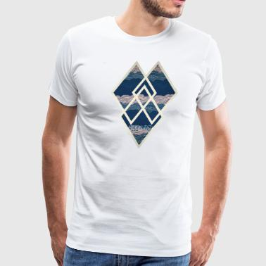Diamond Heart - Men's Premium T-Shirt