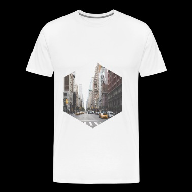 NYC NEW YORK CITY TAXI - Men's Premium T-Shirt