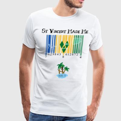 St Vincent made me - Men's Premium T-Shirt