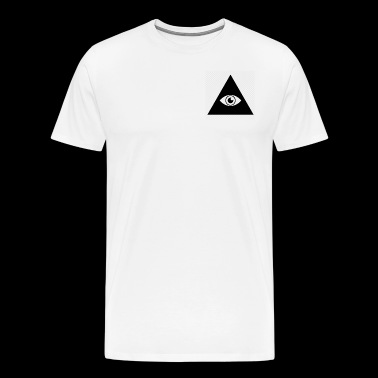 The Sign Of The Illuminati - Men's Premium T-Shirt