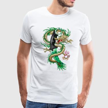 Karambit Emerald dragon - Men's Premium T-Shirt