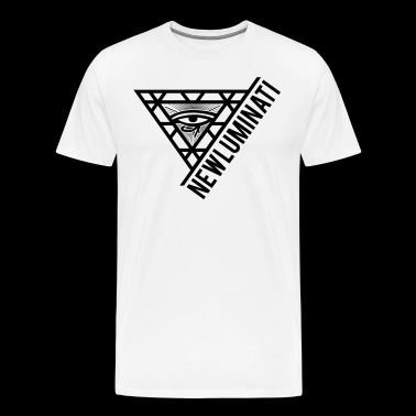 newluminati graphic - Men's Premium T-Shirt
