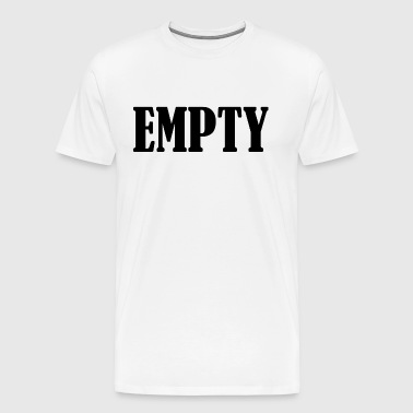 Empty - Men's Premium T-Shirt