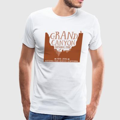 Grand Canyon National Park - Men's Premium T-Shirt
