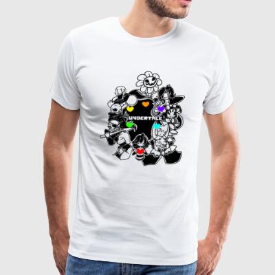 undertale game - Men's Premium T-Shirt