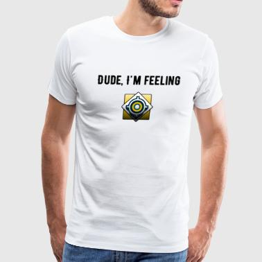 Feeling Perfect (Black) - Men's Premium T-Shirt