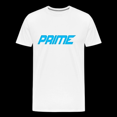 Sleek Cyan Design - Men's Premium T-Shirt