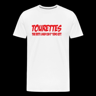 TOURETTES - Men's Premium T-Shirt