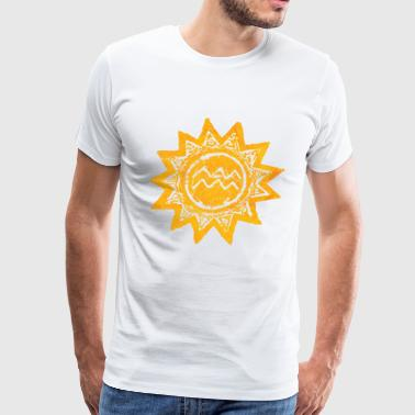 sun and water - Men's Premium T-Shirt