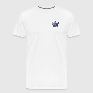 KingJG's Galaxy Merch CROWN ONLY - Men's Premium T-Shirt