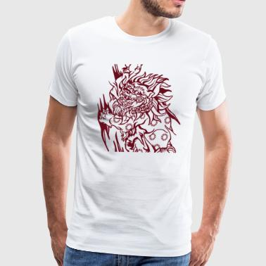 Foo Dog - Men's Premium T-Shirt