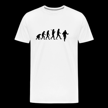 DFP Evolution - Black Logo - Men's Premium T-Shirt