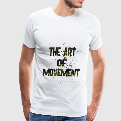 the art of movement 2 - Men's Premium T-Shirt