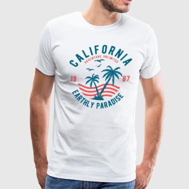 California Earthly Paradise - Men's Premium T-Shirt