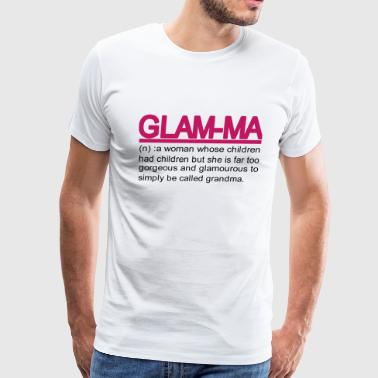 Glam ma - Men's Premium T-Shirt