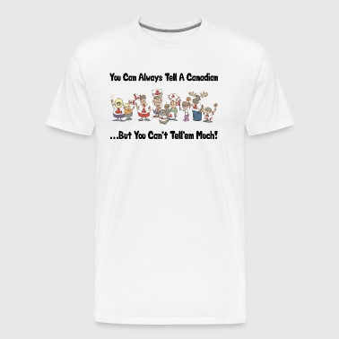 Funny Canadian Canada Day - Men's Premium T-Shirt