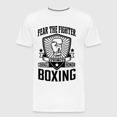 boxing: fear the fighter - Men's Premium T-Shirt