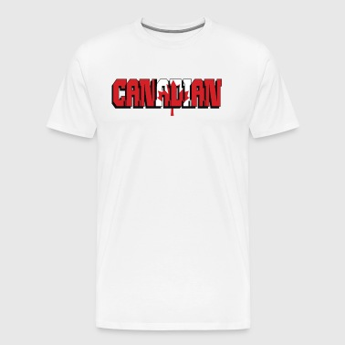 Canadian - Men's Premium T-Shirt