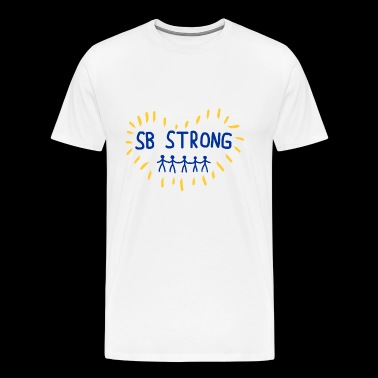 SANTA BARBARA STRONG - Men's Premium T-Shirt