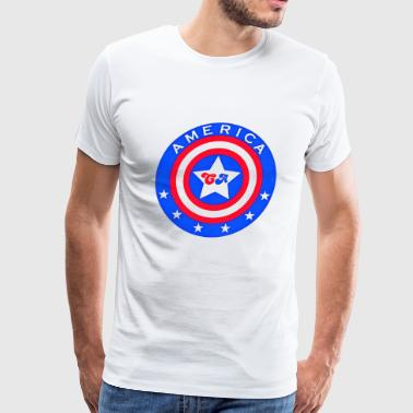 america captain - Men's Premium T-Shirt
