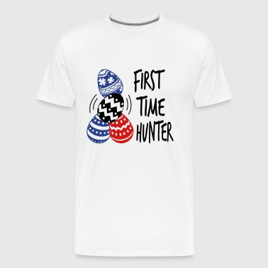 First Time Hunter Easter - Men's Premium T-Shirt