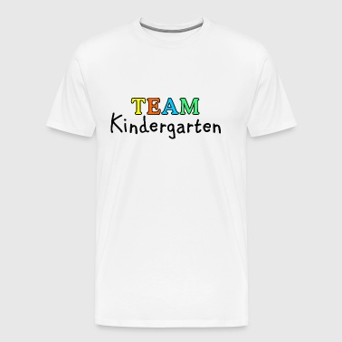 TEAM Kindergarten - Men's Premium T-Shirt