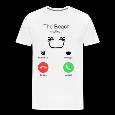Beach Summer Vacation Holiday - Men's Premium T-Shirt