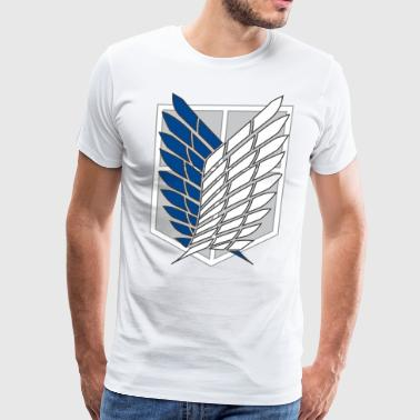 attack on titans recon corps - Men's Premium T-Shirt