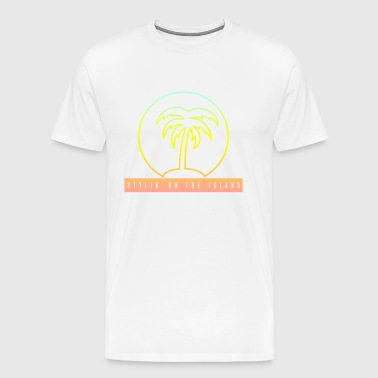 Stylin On The Island PNG - Men's Premium T-Shirt