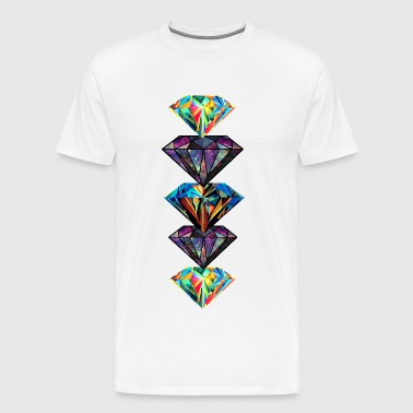 Diamonds - Men's Premium T-Shirt