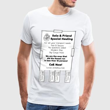 Solo & Friend Special Hauling - Men's Premium T-Shirt