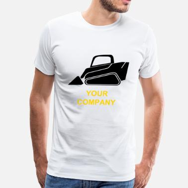 Skid Steer Loader - Track Loader - Men's Premium T-Shirt