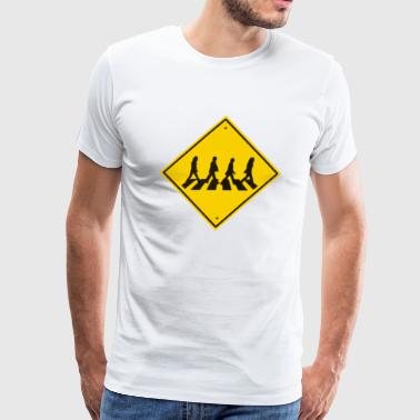 Abbey Road Funny T shirt - Men's Premium T-Shirt