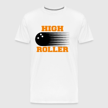 Bowling High Roller - Men's Premium T-Shirt