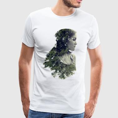 Woman Forest - Save the forest - Men's Premium T-Shirt