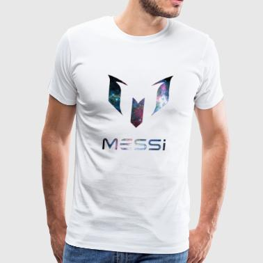 Lionel Messi Galaxy Logo - Men's Premium T-Shirt