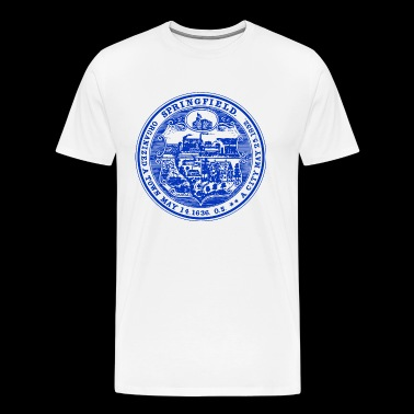 163 Springfield Massachusetts - Men's Premium T-Shirt