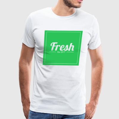 Green logo - Men's Premium T-Shirt